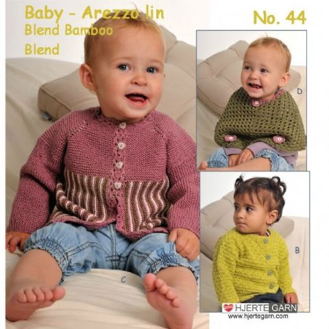 Hjertegarn Baby No. 44  Pattern Booklet